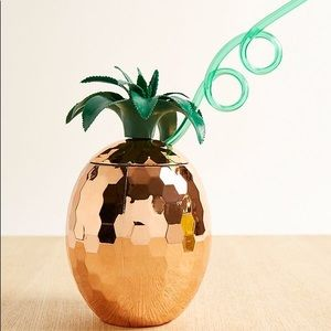 NWT Disco Pineapple Sipper Cup